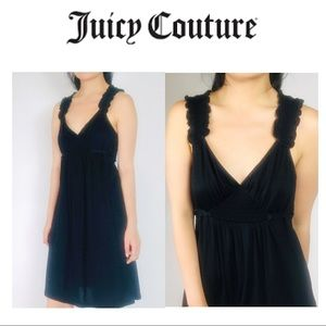Juicy couture dress ruffle belt